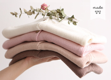 [2016 F/W] 달달한 밀크티 가디건 (아이보리,핑크,핑크베이지,브라운)