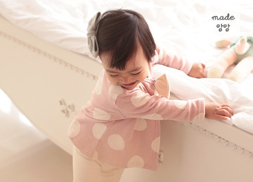 [2016 F/W] 딸기라떼 휘핑크림 가디건 (핑크) *인기폭주! 3차 리오더*